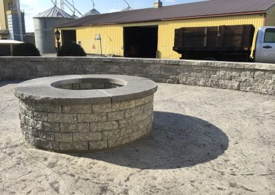 Firepit - Patio | Tom Hershey Landscaping