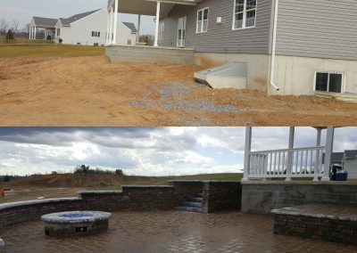 Patio Before and After | Tom Hershey Landscaping