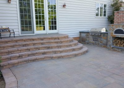 Patio, Steps, Outdoor Kitchen | Tom Hershey Landscaping